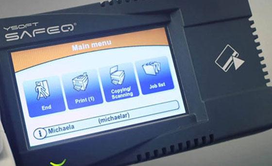 Ysoft SafeQ, eliminiše neovlašteno štampanje, skeniranje ili kopiranje