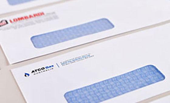 Varijabilna štampa, Insertovanje računa i kovertiranje, Dostava računa